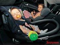 Детские люльки в машину
